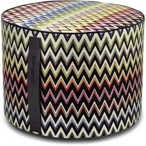 Missoni Home cilinder poef Vernal