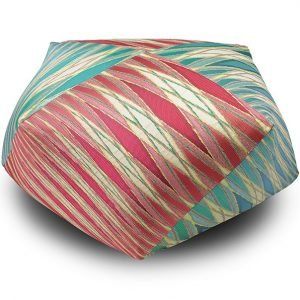 Missoni Home diamant poef Vulcano