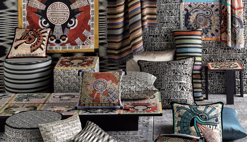 missoni home kussen oroscopo. Black Bedroom Furniture Sets. Home Design Ideas