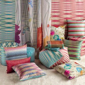 Missoni Home cilinder poef Vancouver 100