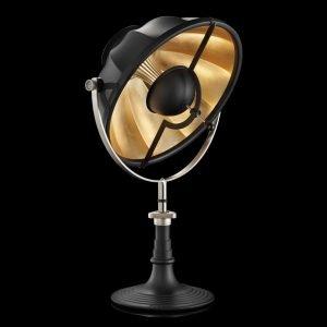 Fortuny Armilla 41 tafellamp zwart - bladgoud