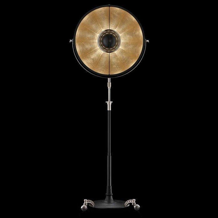 Fortuny Atelier 63 Floor Lamp White: Fortuny Atelier 63 Staande Lamp Bladgoud