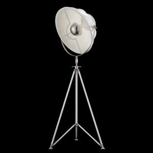 Fortuny Studio 63 staande driepoot lamp wit - wit