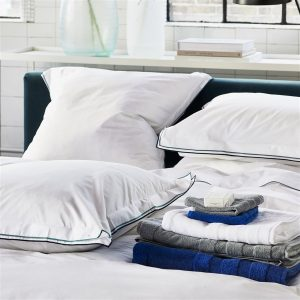 Designers Guild beddengoed Astor Midnight-Aqua
