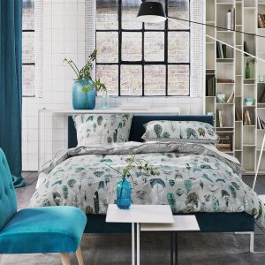 Designers Guild beddengoed Quill Duck Egg