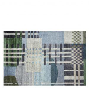Designers Guild tapijt Chandigarh Aqua