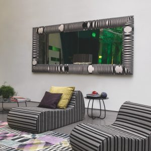 Missoni Home spiegel Framed 70x180