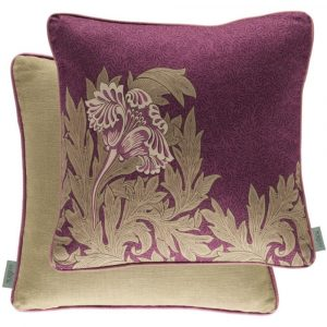 Morris & Co kussen Tulip Heather-Olive