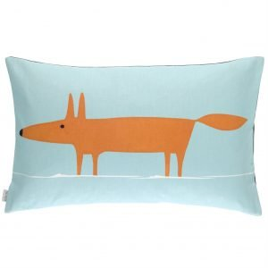 Scion kussen Mr Fox Sky-Tangerine