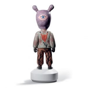Lladró figuur The Guest door Gary Baseman - groot - limited edition