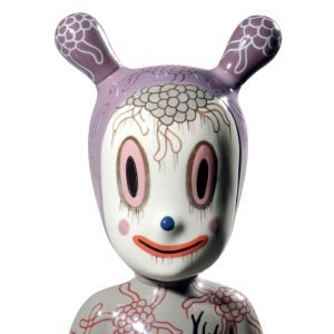 Lladró figuur The Guest door Gary Baseman - groot - limited edition
