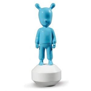 Lladró figuur The Guest klein blauw