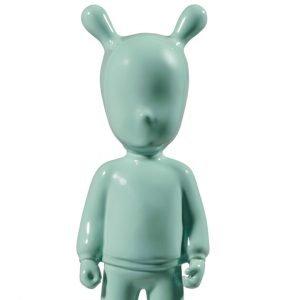 Lladró figuur The Guest klein groen