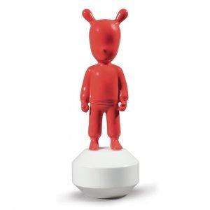 Lladró figuur The Guest klein rood