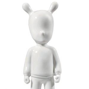 Lladró figuur The Guest klein wit