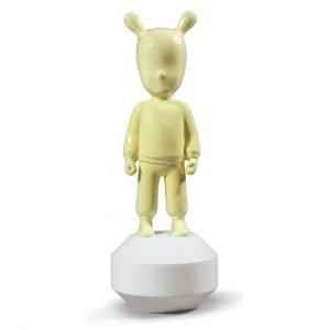Lladró figuur The Guest klein geel