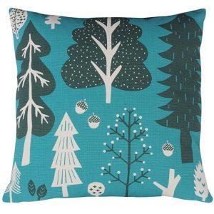 Donna Wilson kussen Forest turquoise