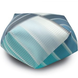 Missoni Home diamant poef Wells 174