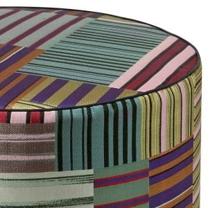 Missoni Home cilinder poef Winslow 160