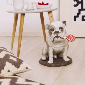 Lladró honden figuur Bulldog with Lollipop