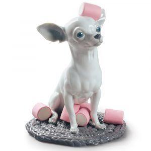 Lladró honden figuur Chihuahua with Marshmallows