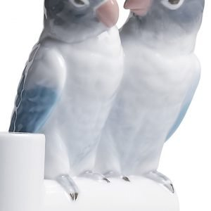 Lladró schaal Parrot Love