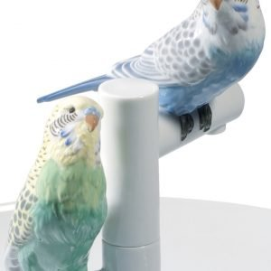 Lladró schaal Parrot Romance