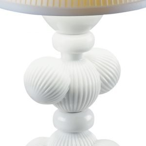 Lladró tafellamp Cactus Firefly wit