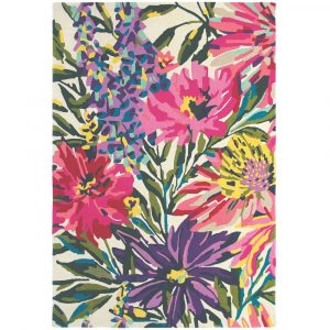 Harlequin tapijt Floreale Fuschia