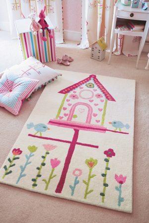 Harlequin tapijt Home Tweet Home