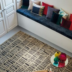 Harlequin tapijt Skintilla Kingfisher