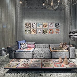 Missoni Home behang Horoscope 10103