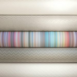 Missoni Home behang Riga Multicolore vertikaal 10180