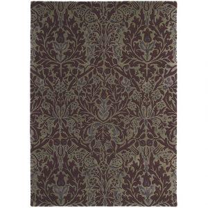 Morris & Co tapijt Autumn Flowers Plum