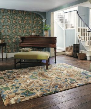 Morris & Co tapijt Lodden Manilla