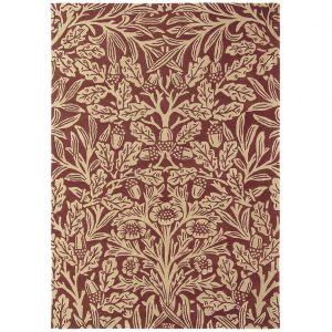 Morris & Co tapijt Oak Crimson