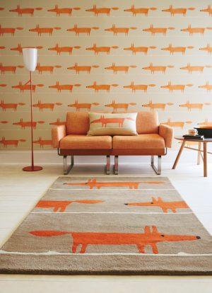 Scion tapijt Mr Fox Cinnamon
