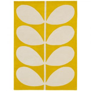 Orla Kiely tapijt Giant Yellow Stem