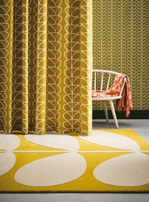 Orla Kiely tapijt Giant Yellow Stem