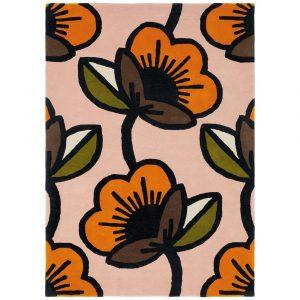 Orla Kiely tapijt Passion Flower Pink
