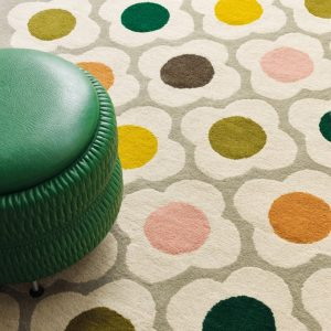 Orla Kiely tapijt Spot Flower Multi