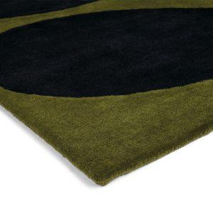 Orla Kiely tapijt Stem Black