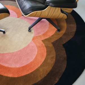 Orla Kiely tapijt Sunflower Pink