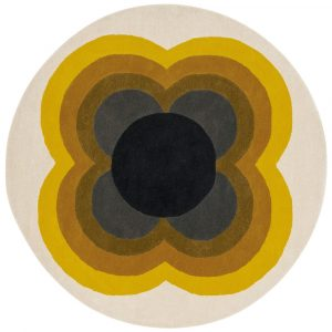 Orla Kiely tapijt Sunflower Yellow