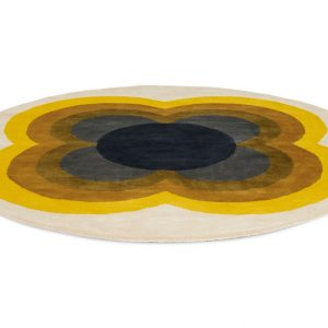 Orla Kiely tapijt Sunflower Yellow
