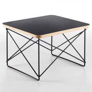 Vitra Eames Occasional Table LTR bijzettafel zwart