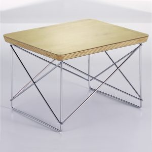 Vitra Eames Occasional Table LTR bijzettafel bladgoud