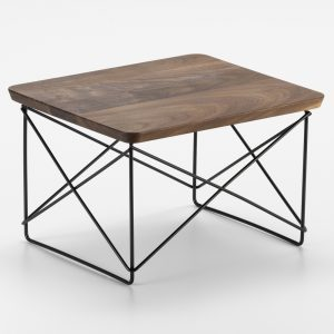 Vitra Eames Occasional Table LTR bijzettafel notenhout