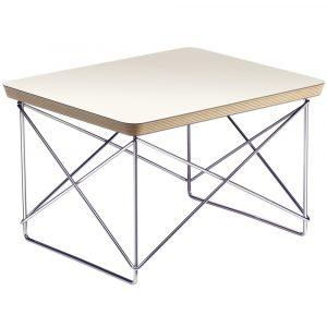 Vitra Eames Occasional Table LTR bijzettafel wit