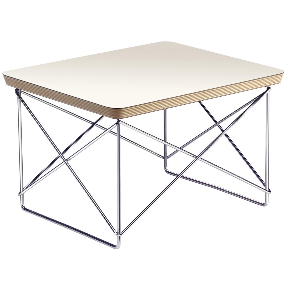 Eames Ltr Bijzettafel.Vitra Eames Occasional Table Ltr Bijzettafel Wit
